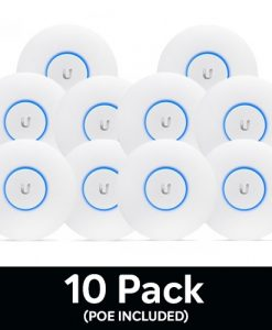 UAP-NANOHD-10-Ubiquiti Unfi Compact 802.11ac Wave2 MU-MIMO Enterprise Access Point (POE-Included)- 10 Pack - Upgrade from AC-PRO