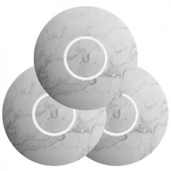 nHD-cover- Marble-3-Ubiquiti UniFi NanoHD Hard Cover Skin Casing - Marble Design - 3-Pack