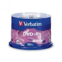 95037-Verbatim DVD+R 4.7GB 50Pk Spindle 16x