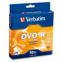 95100-Verbatim DVD-R 4.7GB 10Pk Spindle 16x