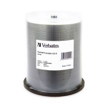 95253-Verbatim CD-R 700MB 100Pk White Thermal 52x	CMV95253