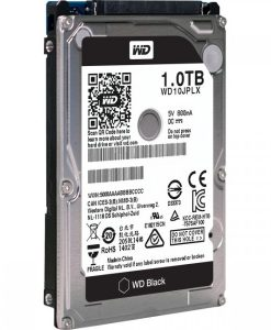 "WD10JPLX-WD Black 1TB SATA3 9.5mm 2.5"" 7200RPM 6Gb/s 32MB Cache"