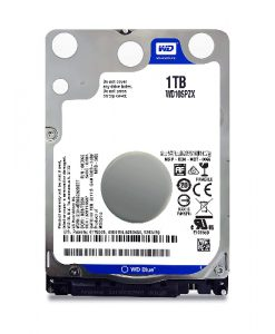 "WD10SPZX-WD Blue 1TB SATA3 7mm 2.5"" 5400RPM 6Gb/s 128MB Cache"
