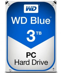 "WD30EZRZ-Western Digital WD Blue 3TB 3.5"" SATA PC HDD 5400RPM 6Gb/s 64MB Cache Acronis True Image 2yrs Wty - WD30EZRZ"
