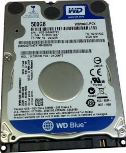 "WD5000LPCX-WD Blue 500GB SATA3 7mm 2.5"" 5400RPM 6Gb/s 16MB Cache"