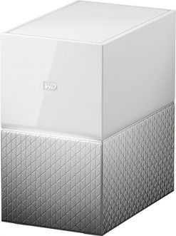 WDBMUT0040JWT-SESN-WD My Cloud Home Duo 4TB Dual-Drive Personal Cloud Storage (NAS)
