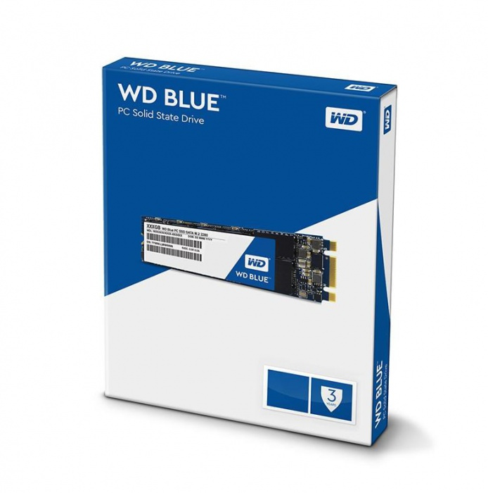 Western Digital Blue 2TB 3D NAND M 2 2280 SSD 560/530 R/W  3 Years Warranty  (WDS200T2B0B)