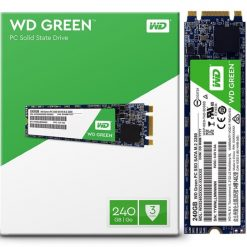 WDS240G2G0B-Western Digital Green 240GB M.2 2280 SSD Transfer speeds up to 545MB/s - 3 Years Limited Warranty