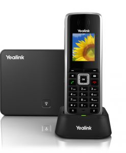 SIP-W52P-Yealink W52P HD Business IP-DECT Phone. Includes Base Station