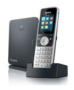 W53P-Yealink W53P Wireless DECT Solution including W60B Base Station and 1 W53H Handset