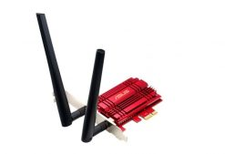 PCE-AC56-Asus PCE-AC56 Dual-Band AC1300 PCI-E Wireless Adapter