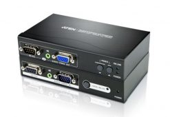 VE200-AT-U-Aten VanCryst VGA Over Cat5 Video Extender with Audio and RS232 - 1920x1200@60Hz or 150m Max