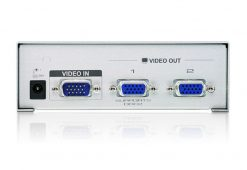 VS92A-AT-U-Aten 2 Port Video Splitter 250Mhz 1920x1440@60Hz Upto 65m
