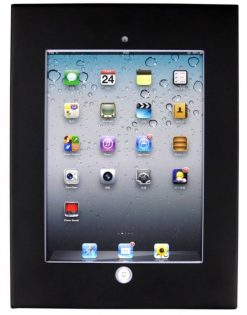 PAD12-01A-Brateck Wall Mount Anti-Theft Secure Enclosure for iPad 2