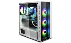 MATREXX 55 ADD-RGB WH-Deepcool MATREXX 55 ARGB WH Full Sized Tempered Glass Case