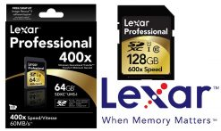 LSD128CTBANZ400--Lexar 400x 128GB CL10 SD Card - Up to 60MBs Read/High Speed Class 10 Card/Professional Photographers and Videographers/High Quality 1080p HD Video (LS
