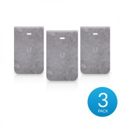 IW-HD-CT-3-Ubiquiti UniFi InWall HD Hard Cover Skin Casing - Concrete Design - 3-Pack