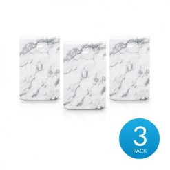 IW-HD-MB-3-Ubiquiti UniFi InWall HD Hard Cover Skin Casing - Marble Design - 3-Pack