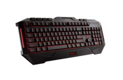 Cerberus Keyboard US-ASUS Cerberus Keyboard LED backlit USB gaming keyboard splash-proof