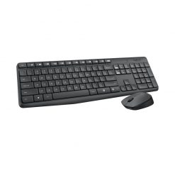 920-007937-Logitech MK235 Wireless Keyboard and Mouse Combo 2.4GHz Wireless Compact Long Battery Life 8 Shortcut keys