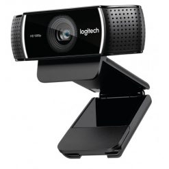 960-001090 960-001091-Logitech C922 Pro Stream Full HD Webcam 30fps at 1080p Autofocus Light Correction 2 Stereo Microphones 78° FoV 3mths XSplit License ~VILT-C920 960-001