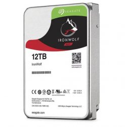 "ST12000VN0008-Seagate 12TB 3.5"" IronWolf SATA3 NAS 24x7 7200RPM Performance HDD (ST12000VN0008) 3 Years Warranty"