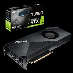 TURBO-RTX2080TI-11G-ASUS nVidia TURBO-RTX2080TI-11G GeForce RTX2080TI 11GB GDDR6 Graphics Card