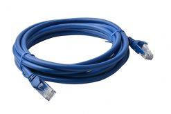 PL6A-7BLU-8Ware Cat 6a UTP Ethernet Cable
