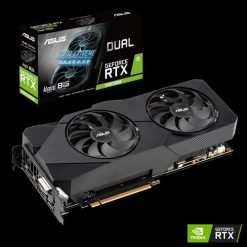DUAL-RTX2060S-A8G-EVO-ASUS nVidia Super DUAL-RTX2060S-A8G-EVO Dual GeForce® RTX 2060S EVO Advanced Edition 8GB GDDR
