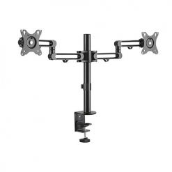 "LDT30-C024-Brateck Dual Monitor Premium Aluminum Articulating Monitor Arm for 17""-32"" Up to 8kg"