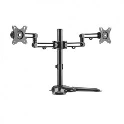 "LDT30-T024-Brateck Dual Monitor Premium Articulating Aluminum Monitor Stand for 17""-32"""
