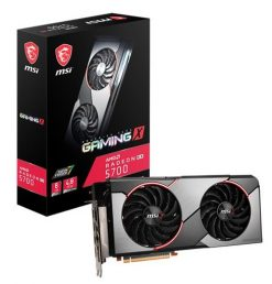 Radeon RX 5700 GAMING X-MSI AMD Radeon RX 5700 Gaming X 8G GDDR6 PCIe 4.0 Graphics Card 7680x4320 4xDisplays 3xDP HDMI 1750/1610 MHz TORX FAN3.0 auto-tuning