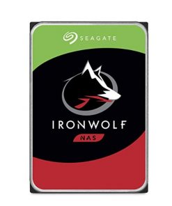 "ST10000VN0008-Seagate 10TB 3.5"" IronWolf  SATA3 NAS 24x7 7200RPM 256MB Cache. Performance HDD. 3 Years Warranty"