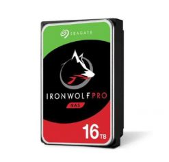 "ST16000NE000-Seagate 16TB 3.5"" IronWolf PRO SATA3 NAS 24x7 Performance 7200 RPM 256MB Cache HDD. (ST16000NE000) 5 Years Warranty"