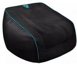 TX3-DB5-BC-V2-Aerocool ThunderX3 DB5 V2 Consoles Bean Bag - Black/Cyan Retail hang pack
