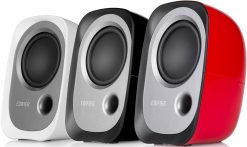 R12U-RED-Edifier R12U USB Compact 2.0 Multimedia Speakers System (Red) - 3.5mm AUX/USB/Ideal for Desktop