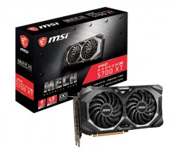RX 5700 XT MECH OC-MSI AMD Radeon RX 5700 XT MECH OC 8GB GDDR6 PCIe 4.0 Graphic Card 7680x4320 4xDisplays 3xDP HDMI 1925/1670 MHz Torx fan 3.0 AMD Radeon FreeSync 2-way