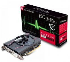 11268-15-20G-Sapphire AMD PULSE RX 550 4GB Gaming Video Card - GDDR5 DP/HDMI/DVI AMD Eyefinity 1071MHz 640 Stream Processors