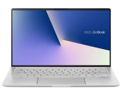 """UM433DA-A5005R-Asus ZenBook UM433DA 14""""HD AMD Ryzen R5-3500U 8GB 512GB SSD W10P64 Vega 8 HDMI  WIFI BT NO FP NumberPad 1YR WTY Icicle Silver Notebook"""
