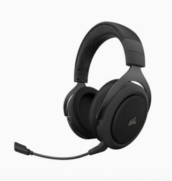 CA-9011211-AP-Corsair HS70 Pro Wireless Gaming Headset Carbon. 7.1 Sound