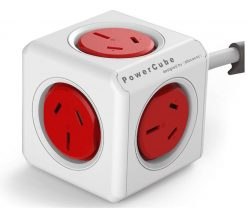 5300/AUEXPCRED-ALLOCACOC POWERCUBE Extended 5 Outlets