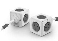 5304/AUEXPCGREY-ALLOCACOC POWERCUBE Extended 5 Outlets