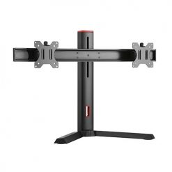 "LDT32-T02-Brateck Dual Screen Classic Pro Gaming Monitor Stand for Most 17"" to 27"" Monitor"