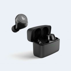 TWS5-BK-Edifier TWS5 Bluetooth Wireless Earbuds - BLACK/ Bluetooth 5.0/ Up to 32 hours Battery Life/8hours Playback/CVC Noise Reduction/Splashproof