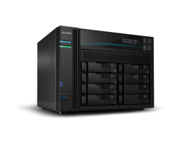 AS6508T-Asustor AS6508T Lockerstor 8 8 Bay Dual Intel 10GbE M.2 SSD Cache and 2.5GbE 2.1GHz(4 free lincense included)