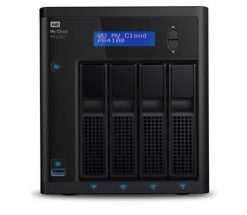 WDBNFA0240KBK-SESN-X-Western Digital WD Cloud PR4100 Pro Series 4-bay 24TB NAS - 1.6GHz Quad-Core CPU