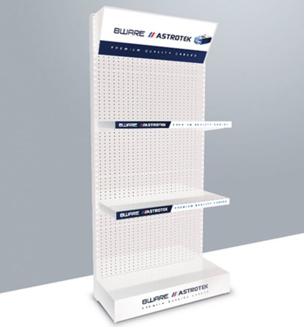 8ware-8W-DISPLAYSTAND2-8ware/Astrotek Retail Cable Display Stand 2 - Dimension 51x15x102cm - Get it FREE when buy $1000 8ware/Astrotek Products
