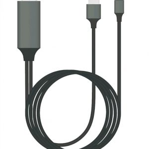 8ware-GEN-CABLIGHTNINGTV-2-8Ware Generic Plug  Play Lightning to HDMI 2m Cable for iPhone  iPad