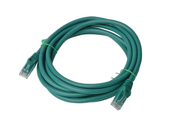 8ware-PL6A-3GRN-8Ware Cat6a UTP Ethernet Cable 3m SnaglessGreen