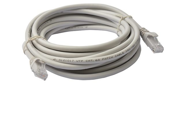 8ware-PL6A-5GRY-8Ware Cat6a UTP Ethernet Cable 5m Snagless Grey